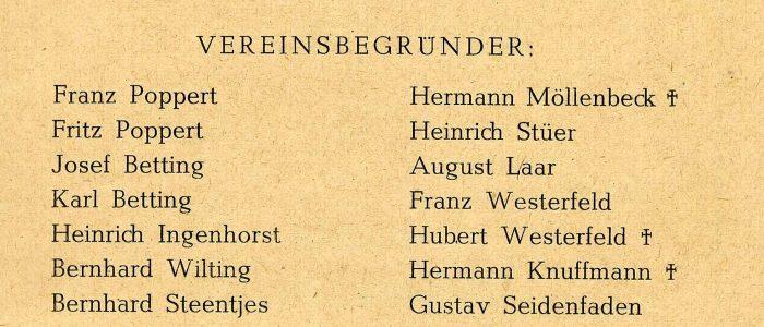 1911 Gründerliste